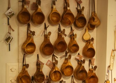 Cuillères en bois Sami