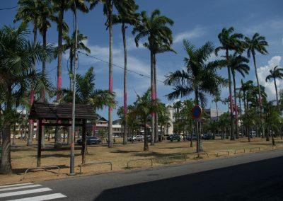 Cayenne : Place des Palmistes