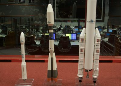 Kourou : CNES Les 3 lanceurs