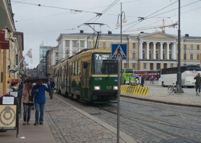 Tram d'Helsinki