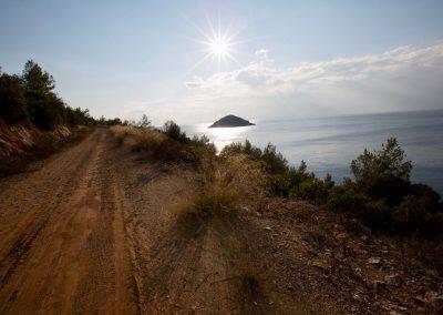Piste roulante sur les îles croates