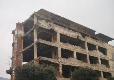 Centre ville Mostar (vestige de la guerre des Balkans)