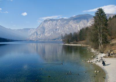 Lac de Bohinj (Slovénie)